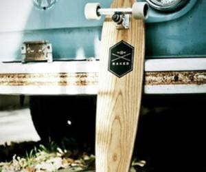 longboard, skate, and car image