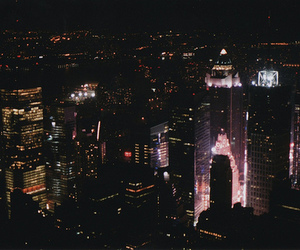 light, city, and beautiful image