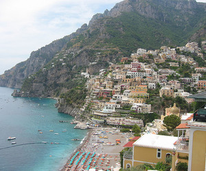 italy, positano, and photography image