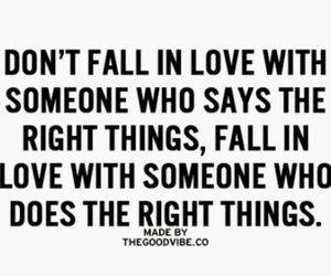 love, someone, and right things image