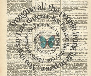 imagine, butterfly, and dreamer image