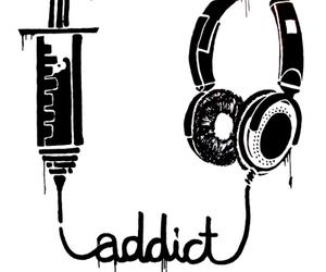 music and addict image