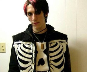 misfits, motionless in white, and chris motionless image