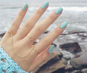 band, diamond, and gold image