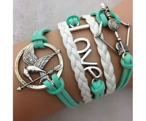 bracelet, katniss, and hunger games image