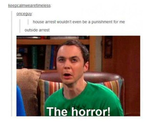 funny, tumblr, and house arrest image