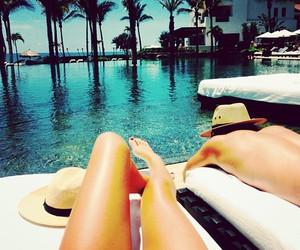 girl, summer, and luxury image