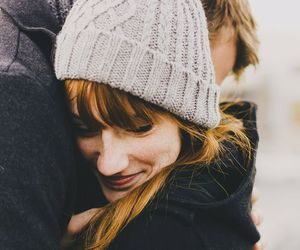 couple, love, and girl image
