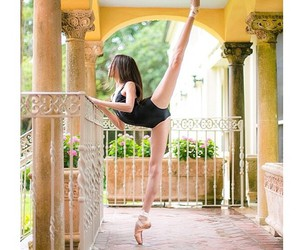 ballet, contortion, and dance image