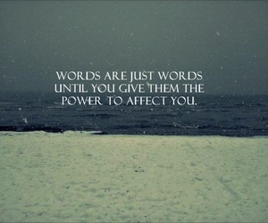 quote, words, and power image
