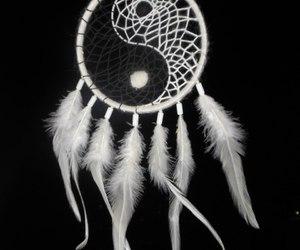 dreamcatcher, yinyang, and ловецснов image