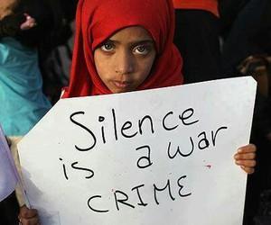 war, silence, and crime image