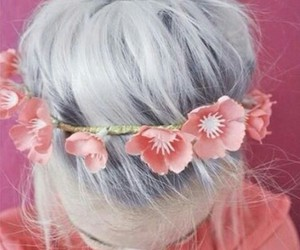 crown, grey hair, and hair image