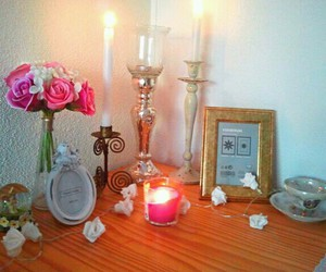 candles, lovely, and elf image