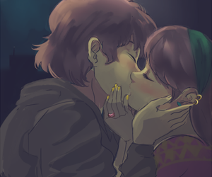 <3 and dipper and mabel image