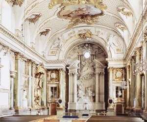 gold, interior, and luxury image
