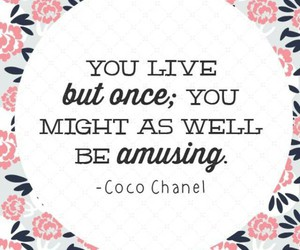 coco chanel and life image