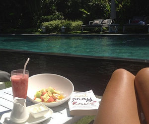 fruit, healthy, and pool image