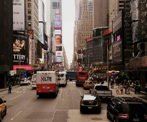 billboards, ny, and people image