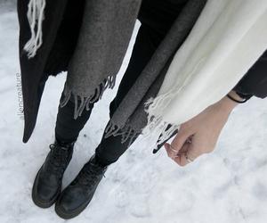 fashion, grunge, and winter image