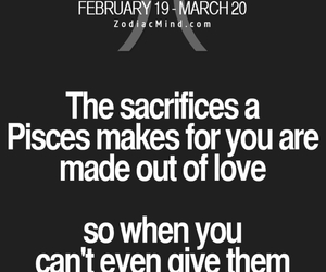 astrology, pisces, and sacrifices image