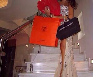 girl, luxury, and dress image