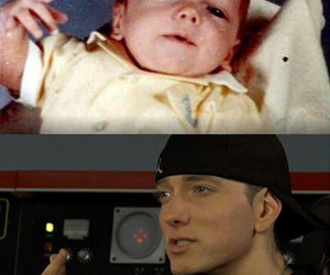 eminem, baby, and rap god image