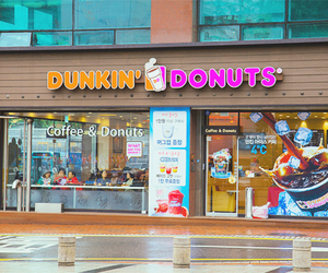coffee and dunkin donuts image