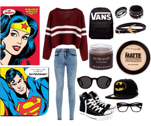 converse, glasses, and Polyvore image