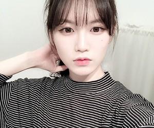 asian, black, and korea image