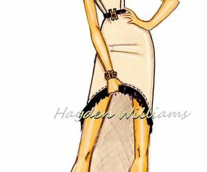 fashion illustration, Victoria's Secret, and hayden williams image