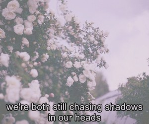 grunge, quotes, and flowers image