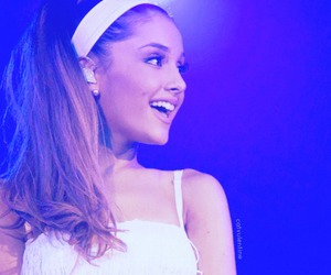 ariana grande, singer, and smile image