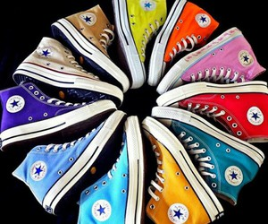 all star, colors, and converse image