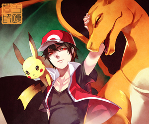 pokemon, pikachu, and charizard image