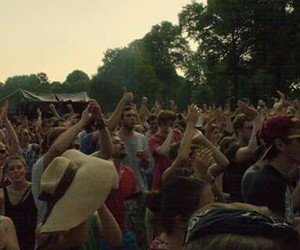 crowd, festival, and great time image