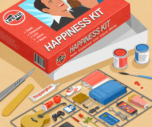 happiness, kit, and art image