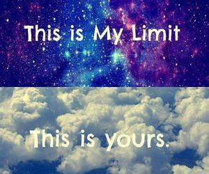 limit, sky, and galaxy image