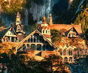 rivendell and LOTR image