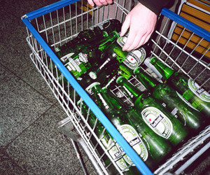 beer, heineken, and alcohol image