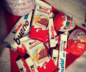 chocolate, kinder, and yummy image