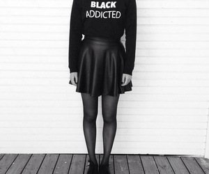 black, addicted, and fashion image