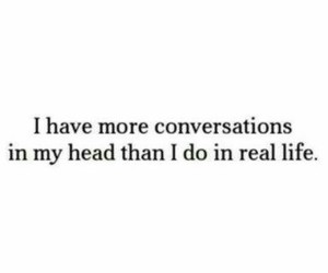quote, conversation, and life image