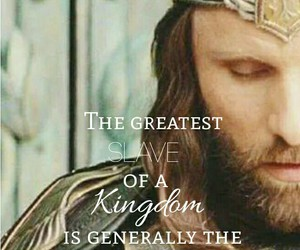 aragorn, king, and lord of the rings image