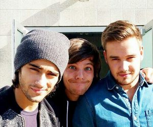 one direction, liam payne, and zayn malik image