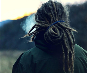 dreadlocks, dreads, and forest image