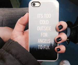angels, iphone, and ed sheeran image