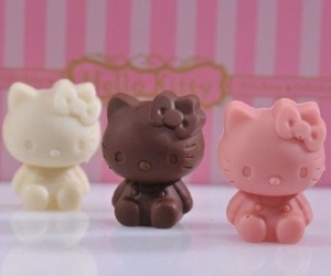 chocolate, Gatos, and kawaii image