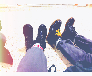 boots, dr, and martens image
