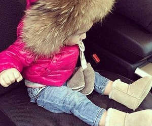 baby, cute, and fur image